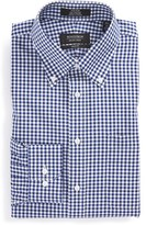 Nordstrom Men's Trim Fit Non-Iron Gingham Dress Shirt