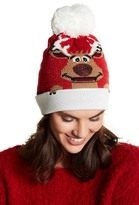 Collection XIIX Red Nose Reindeer Beanie