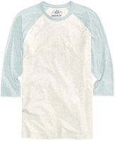 American Rag Men's Baseball Cotton Raglan T-Shirt, Only At Macy's