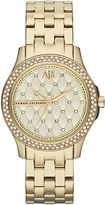 Armani Exchange Ladies Hampton 3 Hand Watch