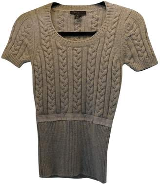 Louis Vuitton Camel Wool Knitwear