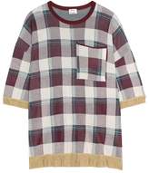 Acne Studios Beah checked top