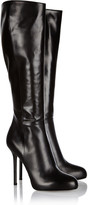 Sergio Rossi Barbie leather knee boots