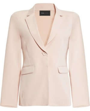 BCBGMAXAZRIA Tailored One-Button Blazer