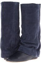 See by Chloe SB21199 (Arizona Calf Dark Blue/Crosta Calf) - Footwear
