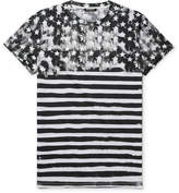 Balmain - Slim-fit Printed Cotton-jersey T-shirt