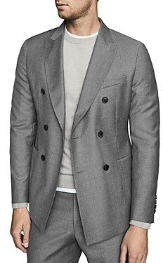 Reiss Woking Flannel Slim Fit Blazer