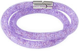 Swarovski Stardust Convertible Crystal Mesh Bracelet/Choker, Light Purple, Small