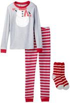 Petit Lem Snowman Costume PJ Set & Socks (Toddler Kids & Little Kids)
