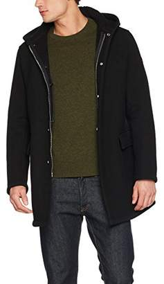 Armani Jeans Men's Trench Jacket,Large (Size: 52)