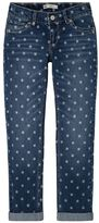 Levi's Girls 7-16 Printed Star Boyfriend Jeans