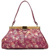 Patricia Nash Metallic Overdye Collection Ferrara Frame Satchel
