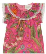 Gucci Baby New Flora Daisy print cotton top