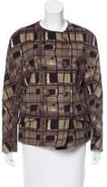 Prada Wool & Angora-Blend Double-Breasted Coat w/ Tags