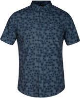 Hurley Men's Airo Medallion-Print Pocket Shirt
