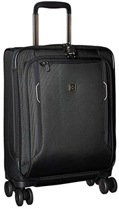 Victorinox Werks Traveler 6.0 Global Softside Carry-On (Black) Carry on Luggage