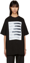 Raf Simons Black any Way Out Of This Nightmare Easy Fit T-shirt