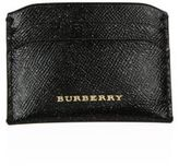 Burberry Tumbled Leather Credit Card Case
