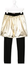 Wauw Capow By Bangbang I Rock Gold pants