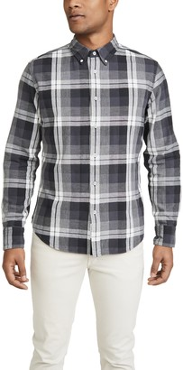 Rag & Bone Fit 2 Tomlin Plaid Button Down Shirt