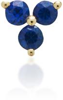 Ef Collection Blue Sapphire Trio Stud