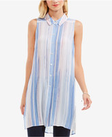 Vince Camuto TWO by Striped Tunic Shirt