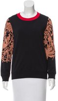 Dries Van Noten Printed Crew Neck Sweatshirt
