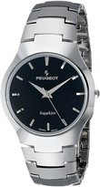 Peugeot Women's PS914 Analog Display Swiss Quartz Grey Watch
