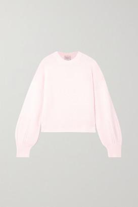 Le Kasha Bergamo Pointelle-knit Cashmere Sweater - White