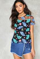 Nasty Gal nastygal Outside the Wall Embroidered Top