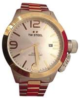 TW Steel Canteen CB32 Stainless Steel & Gold 50mm Mens Watch
