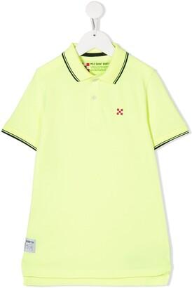 Mc2 Saint Barth Kids Logo Patch Polo Shirt