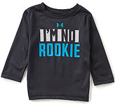 Under Armour Baby Boys 12-24 Months I'm No Rookie Long-Sleeve Tee