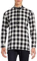 Fairplay Half-Button Flannel Shirt