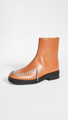 J.W.Anderson Exposed Stitch Boots