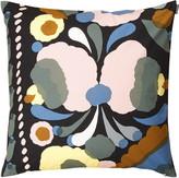 Marimekko Tuppura Cushion Cover - 50x50cm - Black/Peach