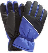 London Fog Boys' Reflective Trim Gloves
