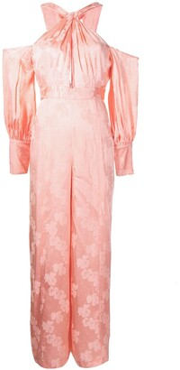 Alice McCall Memory Lane satin jumpsuit