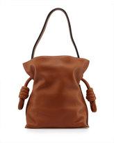 Loewe Flamenco Small Knot Bucket Bag, Tan