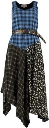 MICHAEL Michael Kors Belted Printed Dress