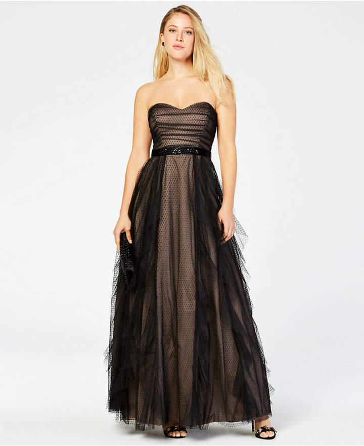 03eedb326 Strapless Dresses For Juniors - ShopStyle