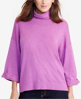 Lauren Ralph Lauren Petite Three-Quarter-Sleeve Sweater