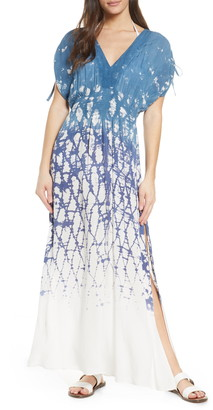 Surf.Gypsy Dip Dye Maxi Cover-Up Dress