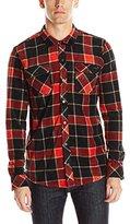 O'Neill Men's Glacier Big Plaid Long Sleeve Shirt