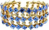 One Kings Lane Vintage Austrian Cobalt Crystal Bracelet