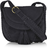 Two Sac suede shoulder bag