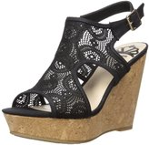Fergalicious Women's Valeria Cork Wedge