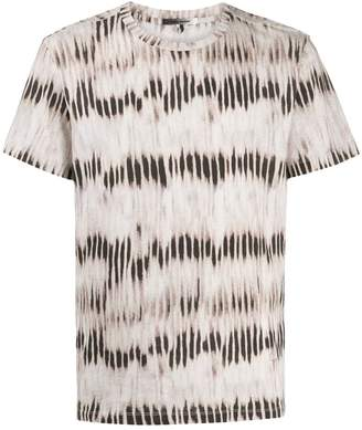 Isabel Marant faded-stripe print T-shirt