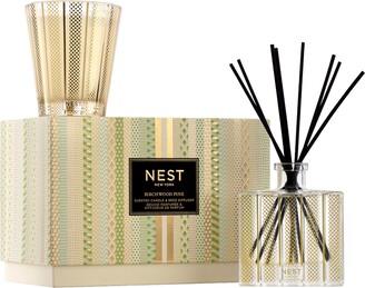NEST New York NEST Fragrances Birchwood Pine Scented Candle & Reed Diffuser Set