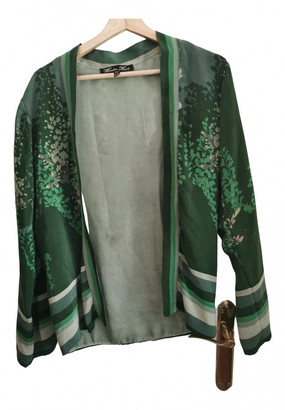 Winter Kate Green Silk Jackets